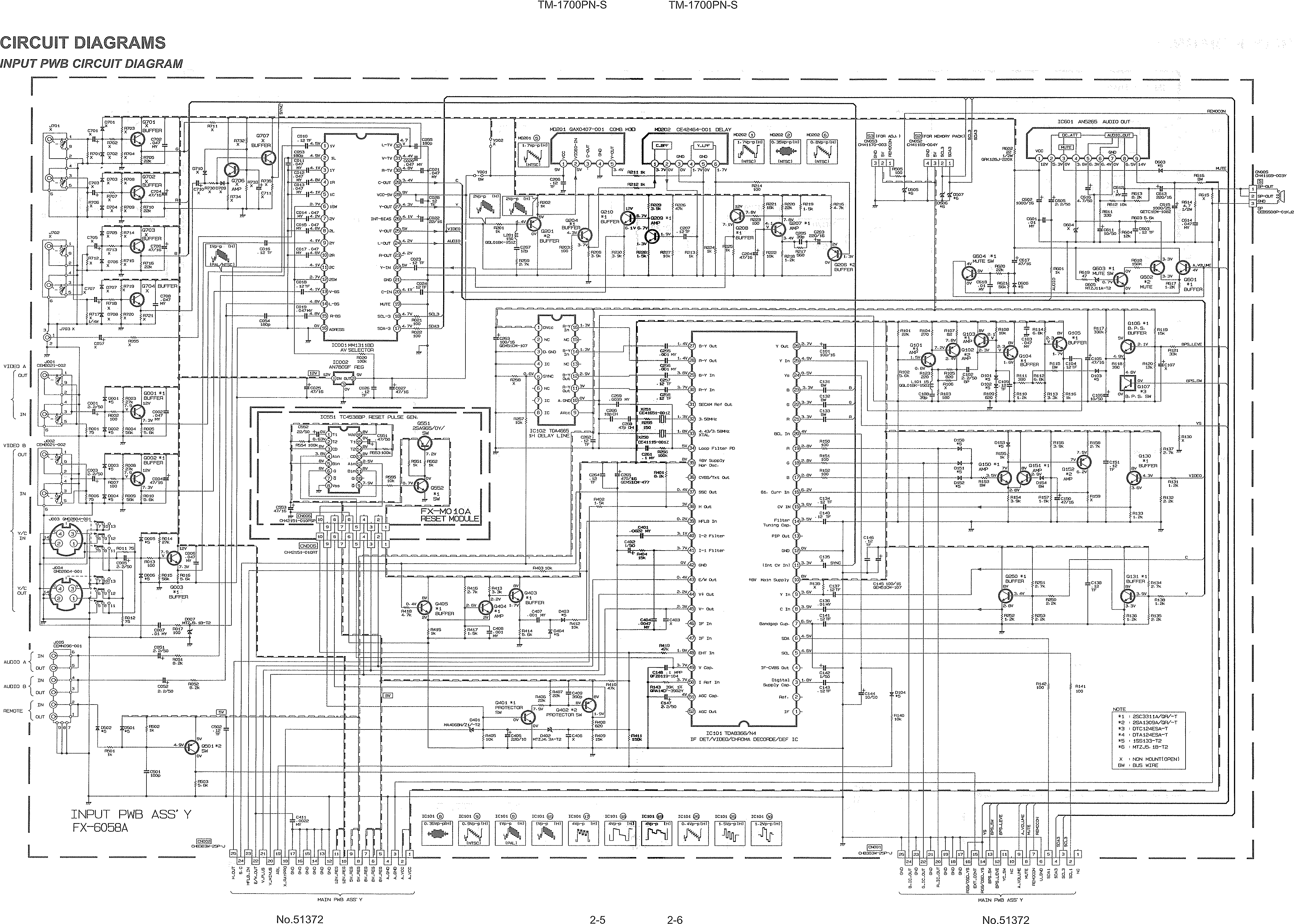 View Topic Tv Rgb Mod Thread To Vga Schematic Heres The Circuit Diagram For Video Card In Tm 1700pn As You Can See Section Is Actually Fully Populated Here